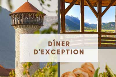 diner exception faverges lac annecy
