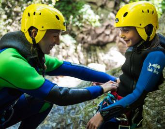 Annecy Canyoning Montmin débutant