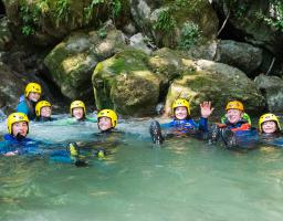 Annecy Canyoning Montmin groupe