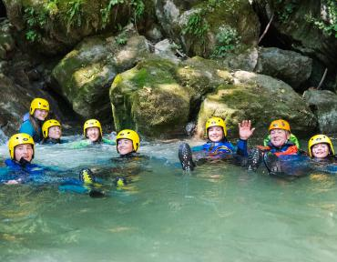 Faverges Annecy Canyoning