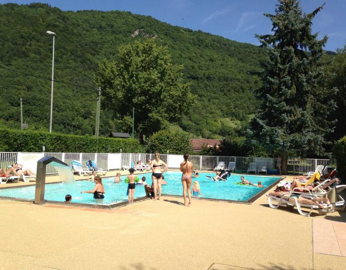 Camping famille Champ Tillet lac annecy