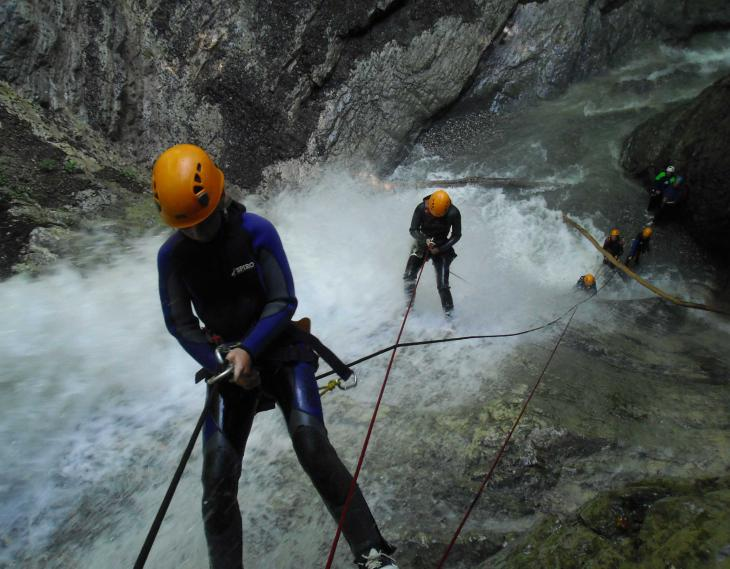 Fbi centre de canyoning lac Annecy