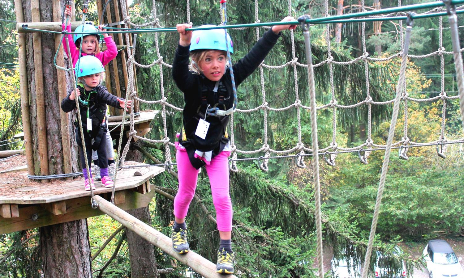 parc aventures accrobranche lac annecy