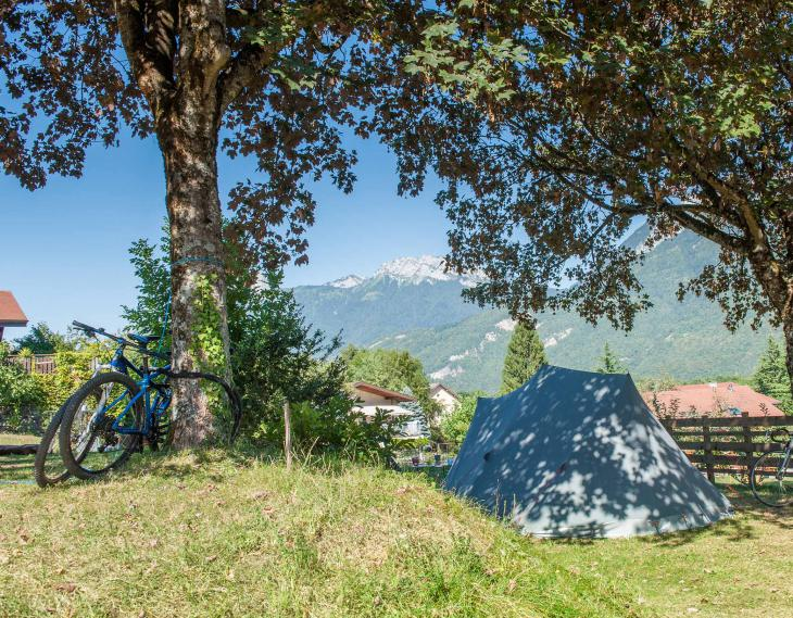 Lac Annecy Camping Le Taillefer