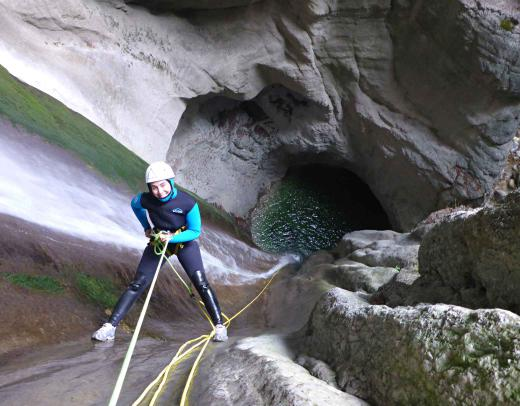 Lac Annecy Angon canyoning sensation