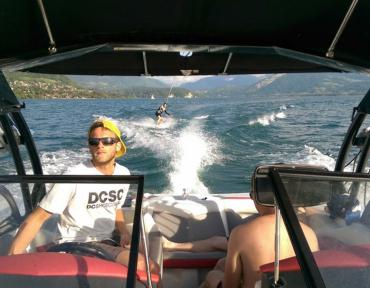 Lac Annecy Play The Mountain wakeboard