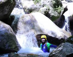 Montmin canyoning play the mountain