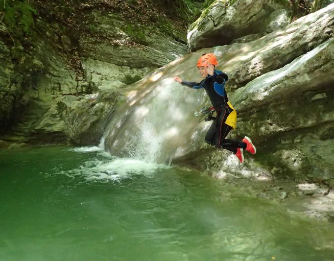 Angon canyoning découverte