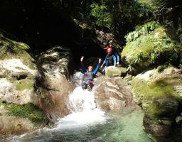 Montmin lac Annecy canyoning découverte