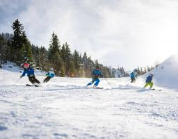 Cours particulier snowboard La Sambuy lac Annecy
