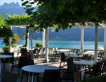 Lac Annecy Doussard restaurant traditionnel