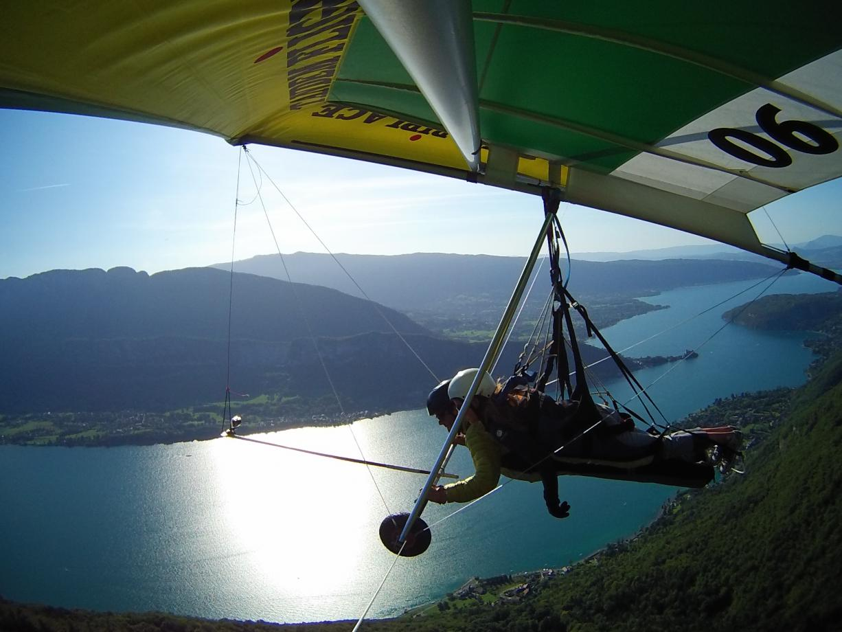 sport montagne lac annecy
