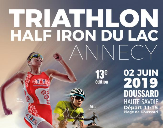 Triathlon international 2019 plage de Doussard Sources Lac Annecy
