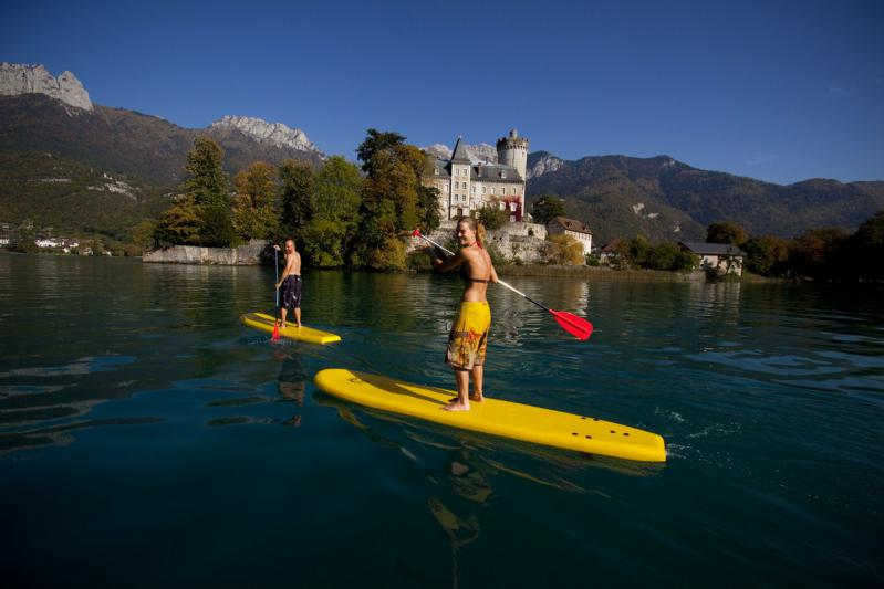 Stand Up Paddle lac annecy duingt