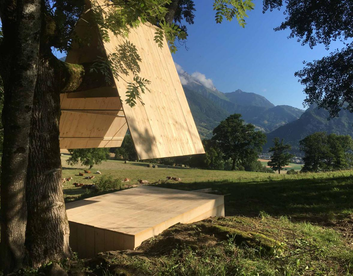 lac annecy concours cabanes 2018